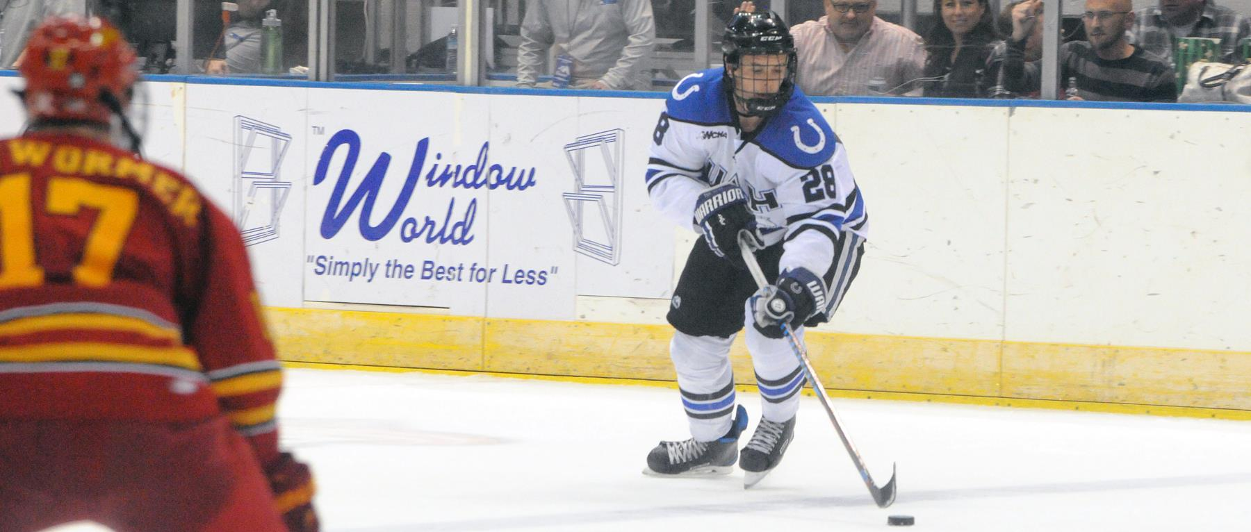 WCHA: Chargers Drop Series Finale To Ferris State Sunday